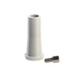 Cilíndro Mini Pilar Calcinável c/ Parafuso