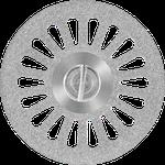 Disco Diamantado Canulado Dupla Face 22 x 0,20mm