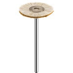 Escova de Pêlo de Cabra c/ Couro Chamois