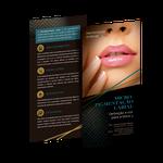 Flyer Especialidades - Micropigmentação Labial