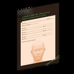 Formulário de Aplicação Preenchimento Facial