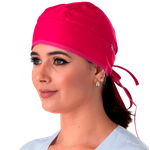 Gorro Bandana Gabardine - Pink