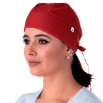 Gorro Bandana Gabardine - Vermelho