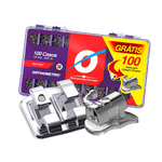 Kit Advanced Roth 0,022 - 100 Casos + 100 Tubos