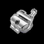 Kit Bráquete Metálico Autoligado Portia Roth 0,022 + Tubos + Sequência de Fios