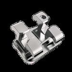 Bráquete Metálico Monobloco Roth 0,022'' - Kit 10 Casos