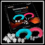 Kit Matriz Unimatrix R - 50 Matrizes + 2 Grampos + 8 Protetores Triangulares