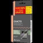 Kit Pino de fibra de Vidro Exacto - Leve 6 Pague 5