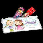 Kit Saúde Bucal Personalizado - Infantil