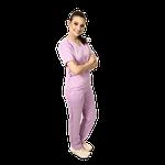 Pijama Cirúrgico Feminino Newprene