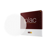 Placa E.V.A Powerplac Redonda 1mm - c/ 10 unid