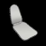 Espelho Metálico p/ Fotografia Oral Oclusal Adulto e Lateral IBM 004