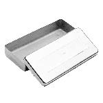 Estojo Millenium Liso Inox - 20 x 10 x 05cm