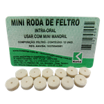 Mini Disco Roda de Feltro p/ Mini Mandril