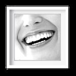 Quadro Decorativo Sorriso Feminino - 7150