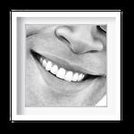 Quadro Decorativo Sorriso Masculino - 7151