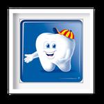 Quadro Decorativo Kiko o Dentinho - 7145