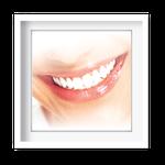 Quadro Decorativo Sorriso Feminino - 7140