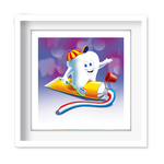 Quadro Decorativo Kiko e Creme Dental - 7416
