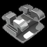 Bráquete Metálico Edgewise Slim 0,022'' - Reposição