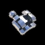 Bráquete Metálico Edgewise/Ricketts 0,018'' - Reposição