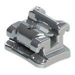 Bráquete Metálico Autoligado SLI Roth 0,022'' - Reposição