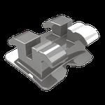 Bráquete Metálico Roth Standard 0,022'' - Reposição