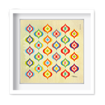Quadro Decorativo Arabescos - 7947