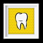Quadro Decorativo - Dente Pop