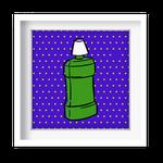 Quadro Decorativo - Enxaguante Pop