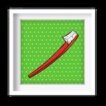 Quadro Decorativo - Escova Pop