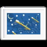 Quadro Decorativo - Noite das Escovas