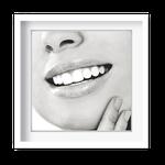 Quadro Decorativo Sorriso Elegance - 7945