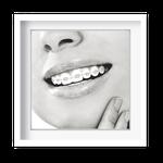 Quadro Decorativo Sorriso Elegance - Ortodontia - 7944