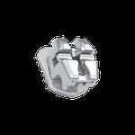 Bráq. Met. Autolig. Easyclip+ Damon Std. Passivo 0,022'' - Rep.