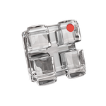 Bráquete Cerâmico Iceram Safira MBT 0,022'' - Reposição