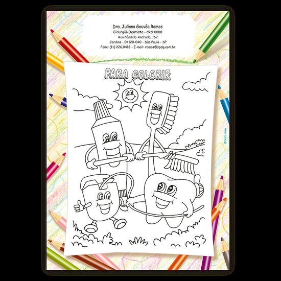 Atividades p/ a Criança - Para Colorir Turminha