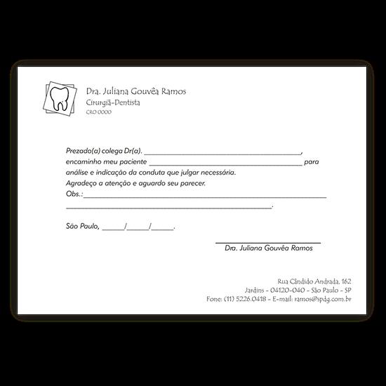Cartão p/ comunicações - Encaminhamento