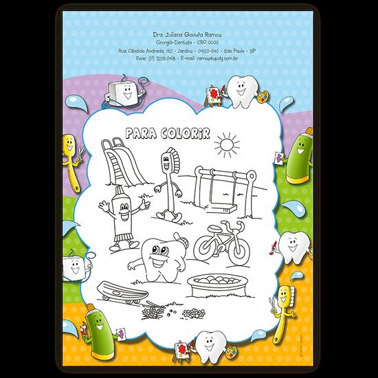 Atividades p/ a Criança - Para Colorir Parque