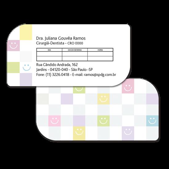 Cartão de Horário Linha Class