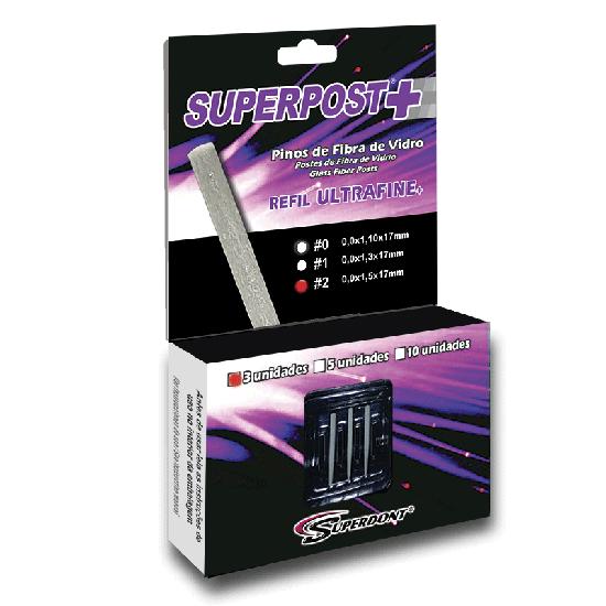 Pino de Fibra de Vidro Superpost+ Ultrafine Refil - 3 Pinos - Nº 2