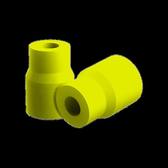 Adaptador p/ Sugador - Amarelo