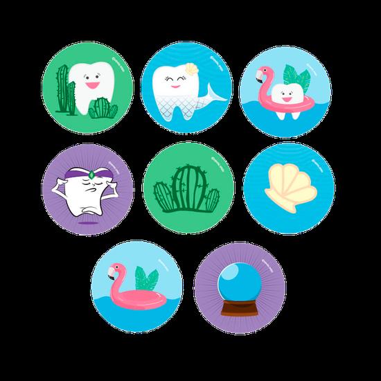 Adesivo Temático - Personagens