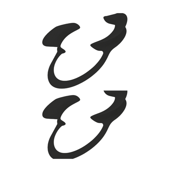 Afastador Labial Expandex Adulto Autoclavável C/2 - Preto