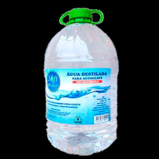 Água Destilada p/ Autoclave 5 Litros