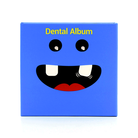 Álbum Dental Premium Azul
