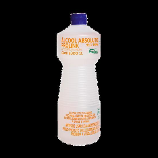 Álcool Absoluto Prolink 99,5% (99,3 Inpm) 1l