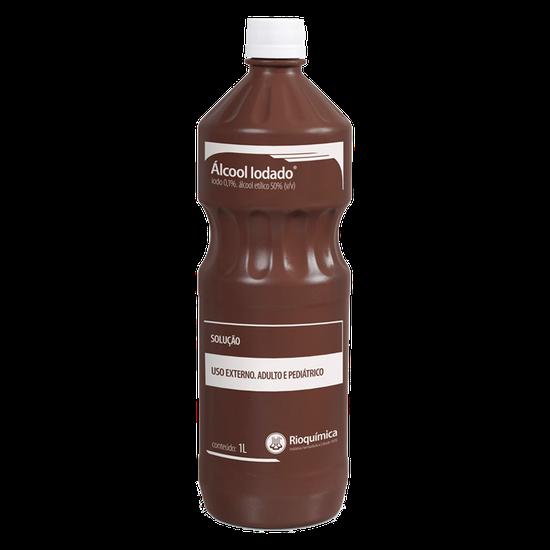 Álcool Antisséptico Álcool Iodado 0,1% 1L