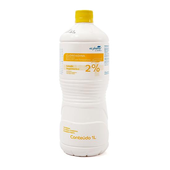 Antisséptico Gliconato de Clorexidina 2% Degermante 1L
