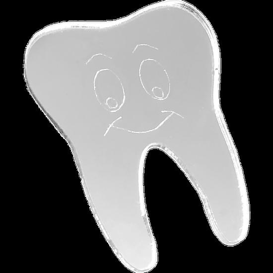 Aplique com Adesivo Dente